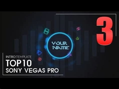 template intro video 3 2d sony vegas pro free