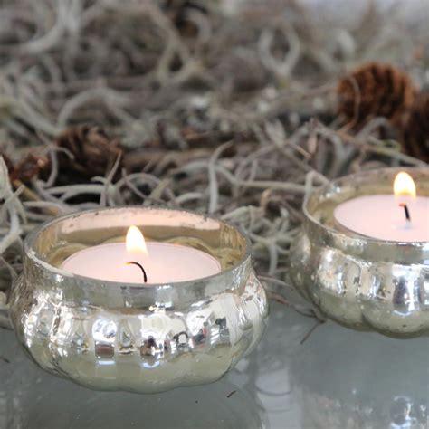 schwimmkerzenhalter silber 4tlg flache teelichthalter rund bauernsilber antik silber