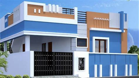 Single Floor House Elevations Ground Floor House