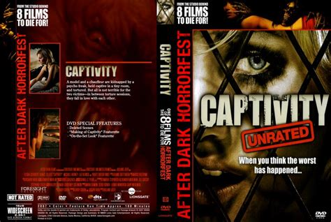 captivity dvd scanned covers captivity2 dvd covers