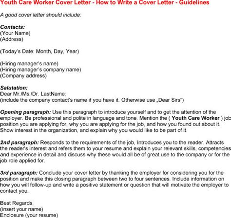 cover letter for working with youth cover letter youth work 28 images youth worker cover