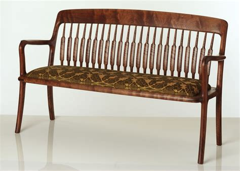 custom made benches custom made hall bench by edward wohl woodworking and