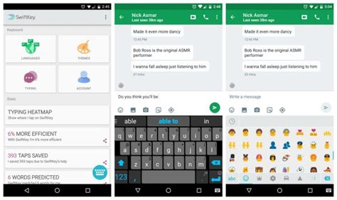 swiftkey 6 0 now available on play