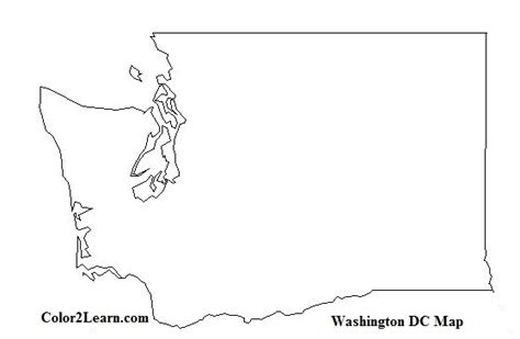 washington state colors wa state map coloring pages coloring pages