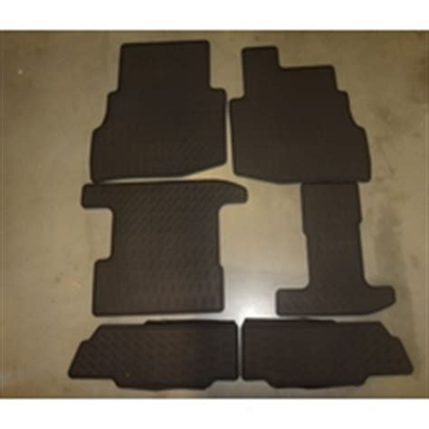 2016 2017 mazda cx 9 front and rear all weather rubber