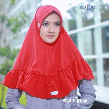 Salwa Syar I 40 koleksi jilbab cantik khimar salwa by gda pusat grosir baju muslim