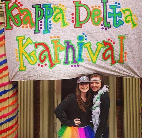 design banner karnival 1000 images about kappa delta on pinterest sorority