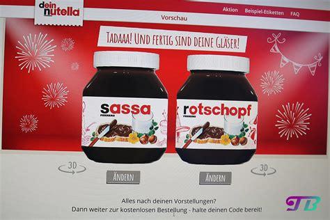 Nutella Aufkleber Mit Namen by Nutella Aufkleber Mit Eigenem Namen Kamos Sticker