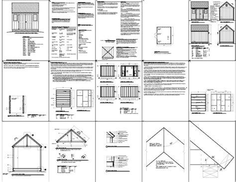 Free 10x12 Shed Plans Pdf by Pdf 10x12 Storage Shed Plans Pdf Plans Free