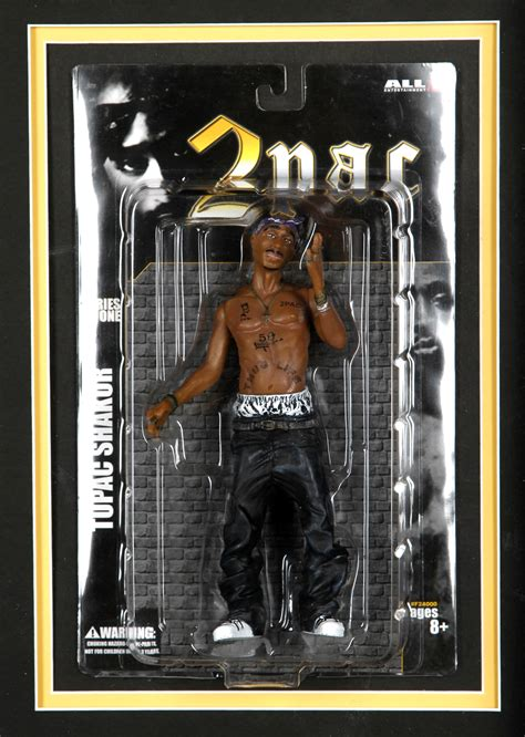 Tupac Shakur Also Search For Lot Detail Tupac Shakur Signed Juice Contract And Figure Shadow Box 2