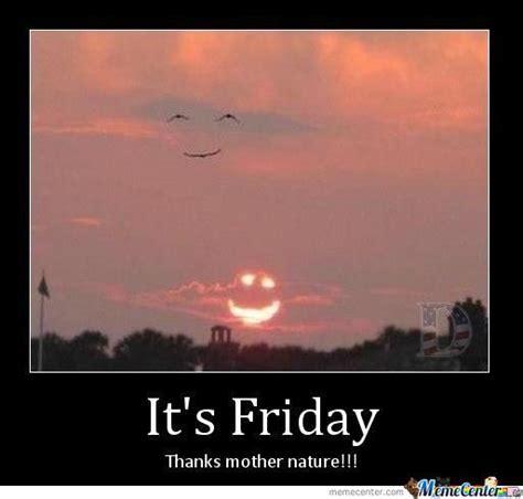 Nature Meme - thanks mother nature by lazy senior meme center