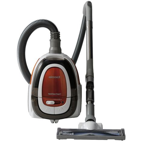 carpet vacuum shop bissell hard floor expert bagless canister vacuum at