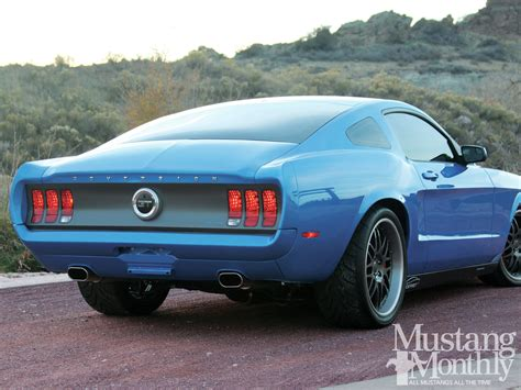 custom mustang pics custom blue ford mustang s197 pictures