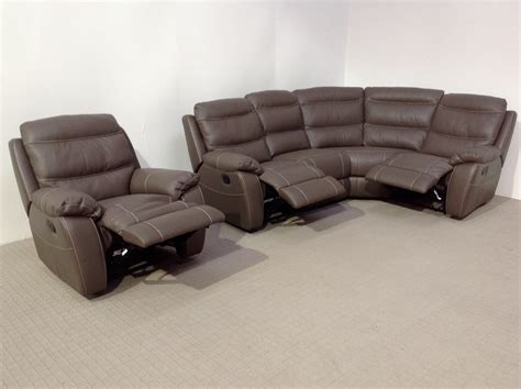 corner lounge with sofa bed and recliner softaly leather reclining corner sofa reclining matching