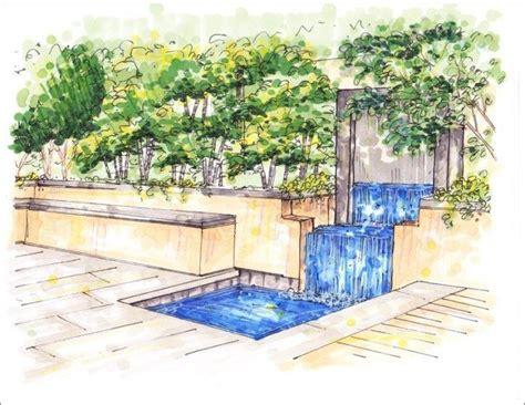 Interior Landscaping Elements by Landscape Designer Drawing Garden Ideas