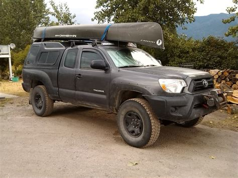 Tacoma Access Cab Roof Rack by Access Cab With Roof Rack For A Kayak Tacoma World