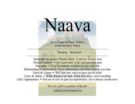 beautiful meaning naava name means beautiful