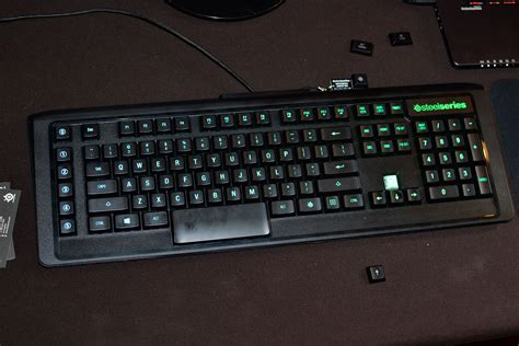 Keyboard Steelseries Apex M800 1 steelseries ces apex m800 qs1 mechanical switch and sentry eye tracker