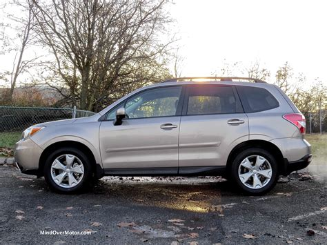 tan subaru 2015 subaru forester reviewed grade b mind over motor