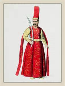 Ottoman Empire Fashion Silahdar Aga Sword Bearer Turkish Sultan Ottoman Empire Historical Clothing The Costume Of