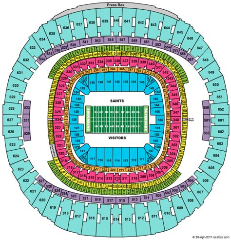 atlanta falcons seating chart prices new orleans saints seating chart car interior design