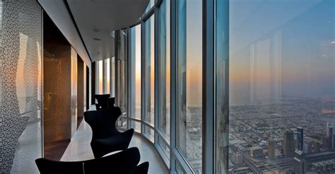 The Worlds Highest Observation Deck Opens At The Burj