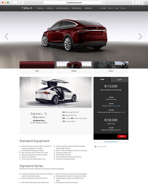 Tesla Usa Price Tesla Model X Revealed Via Configurator 560kw