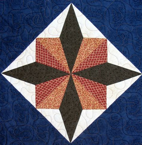 Quilting Block by Starwood Quilter Turkey Tracks Quilt Block Version Ii