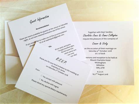 personalised pocketfold wedding invitations uk pocketfold wedding invitations and groom initials