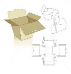 cardboard template box templates corrugated and folding box templates
