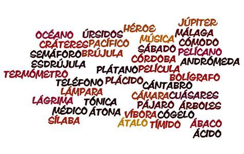 imagenes de palabras polisilabas aprender a colocar tildes cuando corresponde taringa