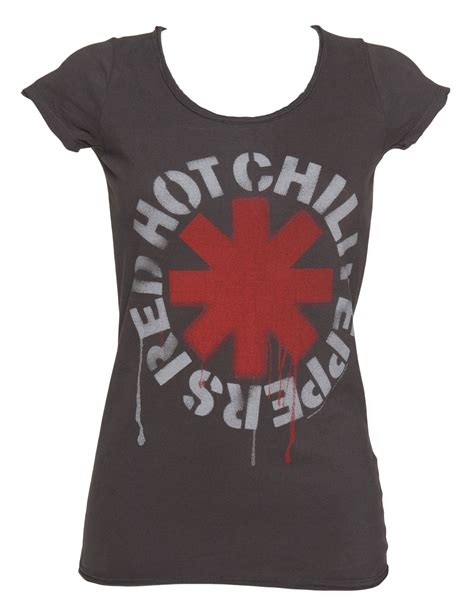 Delwyn Print Rhcp Chili Peppers Size S To L s charcoal chili peppers t shirt