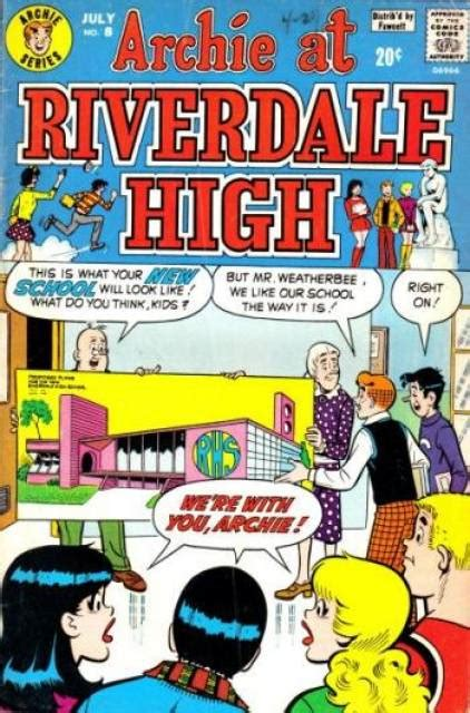 archie at riverdale high 8 issue