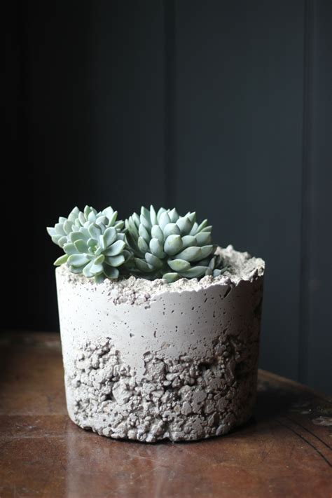 Make Planters by Make It Diy Concrete Planters Growing Spaces