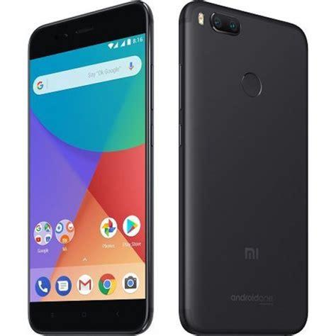 Xiaomi Mi A1 Ram 4gb 64gb Black Garansi Resmi xiaomi mi a1 dual sim 32gb 4gb ram 4g lte black
