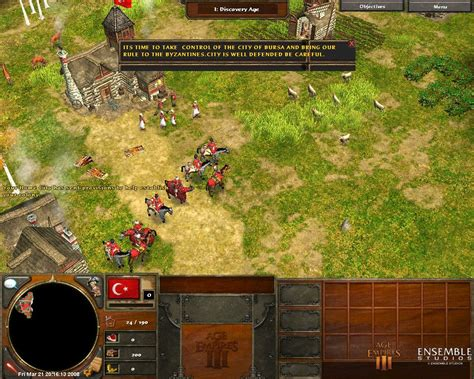 Age Of Empires 3 Ottoman Strategy Ottoman Rise Mod 0 4 Second Mission Age Of Empires Iii Mods Gamewatcher