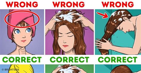 9 Tips On Washing Your Hair by 10 Tips That Ll Save You The Trouble Of Washing Your Hair