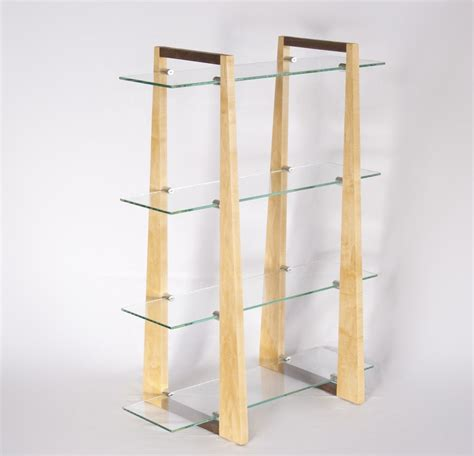glass display shelves handmade glass display shelf by thinkjet design custommade