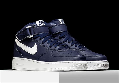 Stap Blue Sneakers nike air 1 mid quot midnight navy quot sneakernews