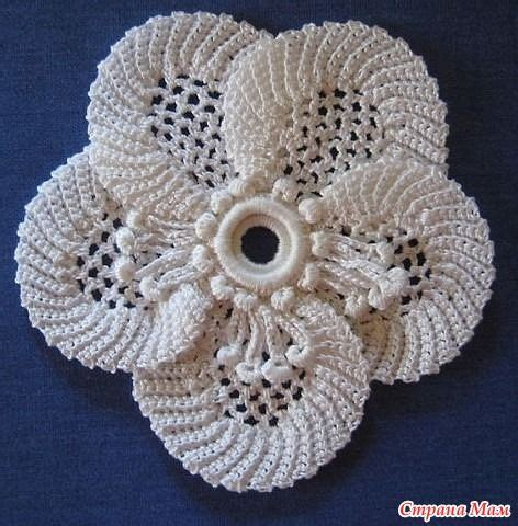 free patterns irish crochet irish crochet flower free pattern deniz