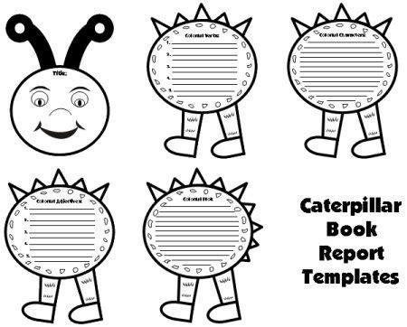 pumpkin book report template book report ideas for teachers
