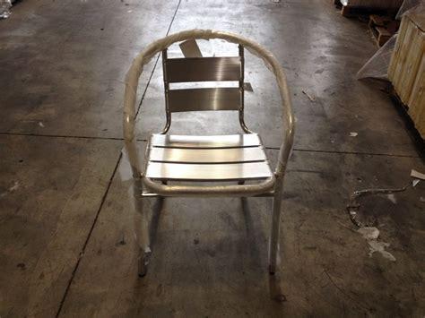 sedie alluminio bar sedia bar impilabile alluminio bar 410553