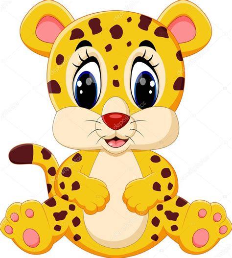 imagenes de un jaguar en caricatura caricatura lindo leopardo vector de stock 130133682