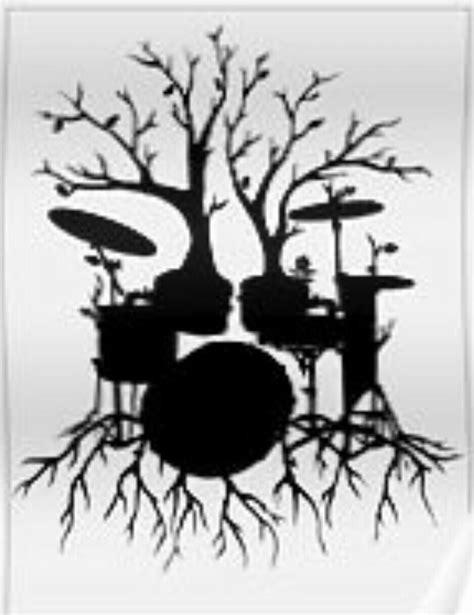 drum set tree tattoo idea fordaddy tattoos pinterest