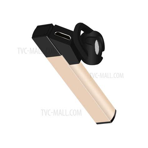 Earphone Mini Bluetooth 4 1 Single Ear Black White wuw single side wireless bluetooth 4 1 in ear earphone