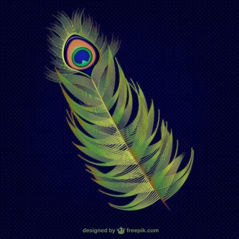 imagenes abstractas reales pluma de pavo real abstracta descargar vectores gratis