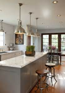 Traditional Kitchen Lighting Industrial Chic Is It For You Tidbits Twine