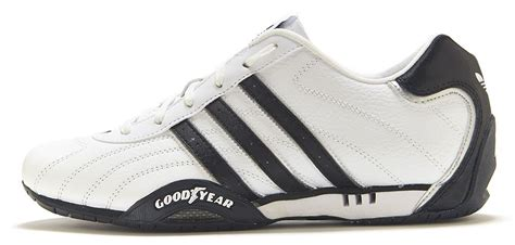 adidas goodyear trainers c adidas originals goodyear adi racer low trainers white