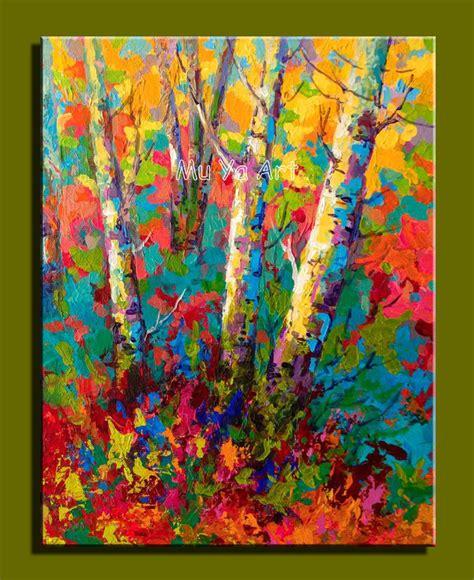 Famous artist deco handmade colorful canvas artwork ... Famous Acrylic Painting