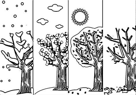 libro seasons coloring book colouring seasons coloring page four seasons coloring pages free in style kids drawing and
